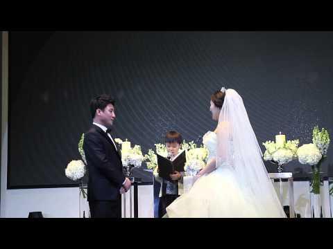 (뮤지컬웨딩) 주례없는 결혼식 귀여운  꼬마�