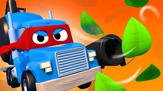 Lastwagen Zeichentrickfilme für Kinder -  Haut ab, ihr Blätter! - Autopolis   Cartoons für Kinder
