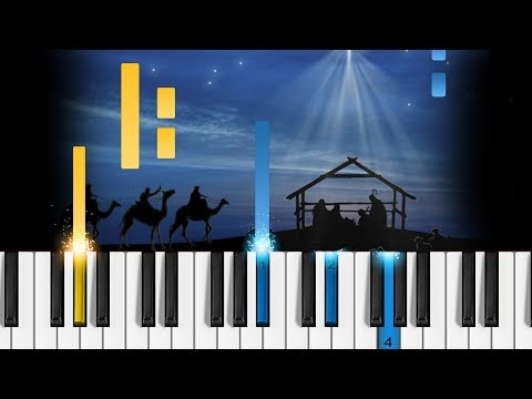 Angels We Have Heard on High - EASY Piano Tutorial