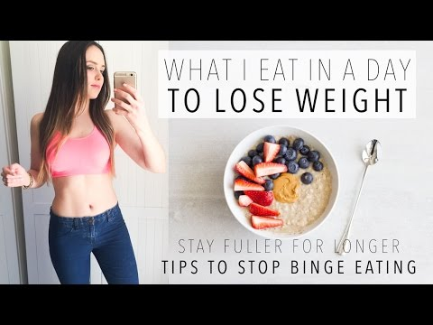 What I Eat In A Day To LOSE WEIGHT - On a HUNGRY DAY | How To Stop Binge Eating + Healthy Recipes #6