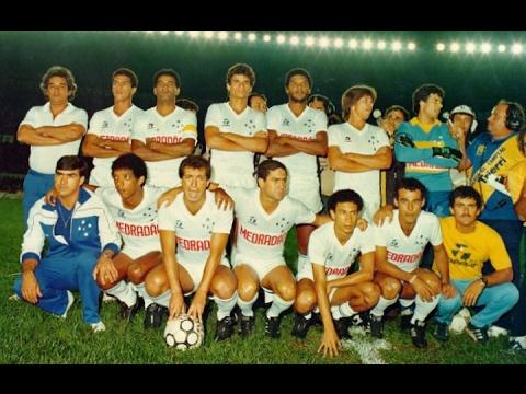 Cruzeiro 4x0 Atlético-MG (09/12/1984) - Final Mineiro de 1984 (Cruzeiro campeão)