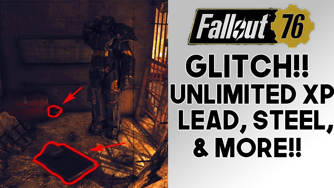 Fallout 76 GLITCH!! UNLIMITED Lead, XP, Nuclear Waste