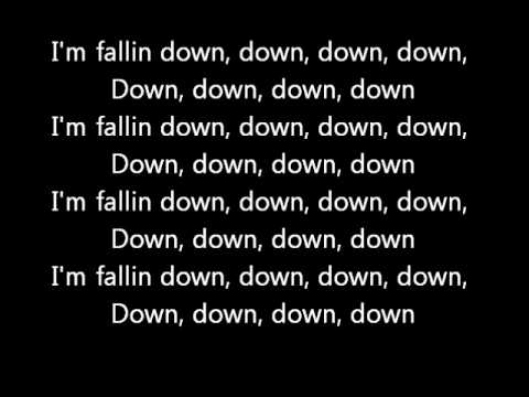 Chris Brown - Fallin (Lyrics on screen) karaoke Graffiti