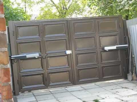 ворота филенчатые фото