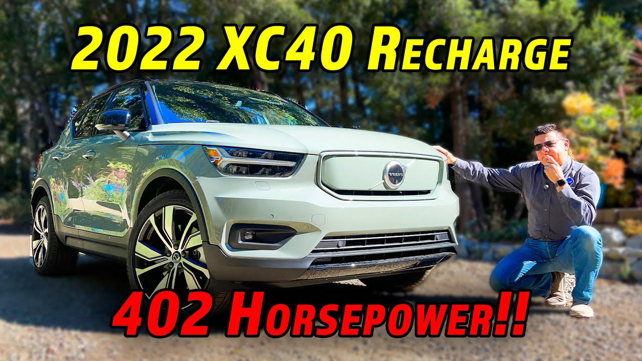 Download Volvo's First Electric Crossover Is Just The Start   2022 Volvo XC40 Recharge