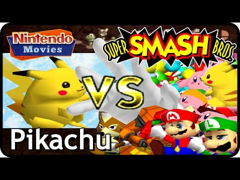Super Smash Bros. - Adventure Pikachu