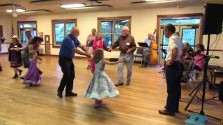 Contra dancing with Oma and Opa
