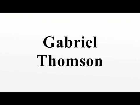Gabriel Thomson