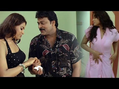 Jai Chiranjeeva Movie || Back To Back Comedy Scenes || Chiranjeevi, Sameera Reddy