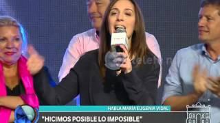 Elecciones 2015: habla Vidal - Telefe Noticias