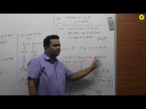 EQUIVALENT CONCEPT 03 | NV SIR( B.Tech. IIT Delhi)   | IIT JEE MAIN + ADVANCED | AIPMT | CHEMISTRY |