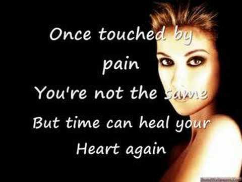 Celine Dion-fade away ( with Lyrics)