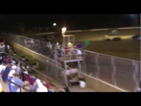 Trail-Way Speedway 358 Sprint Car Highlights 6-18-10.