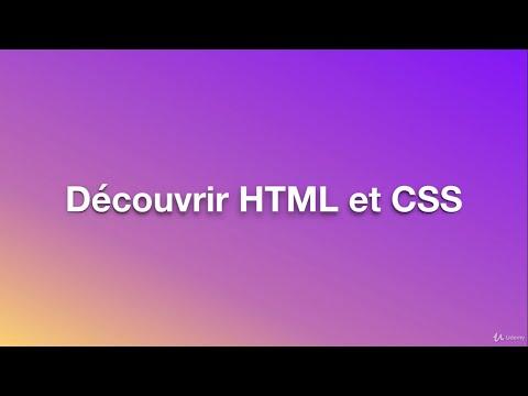 Initiation Au Web( HTML , CSS ) Cours 11