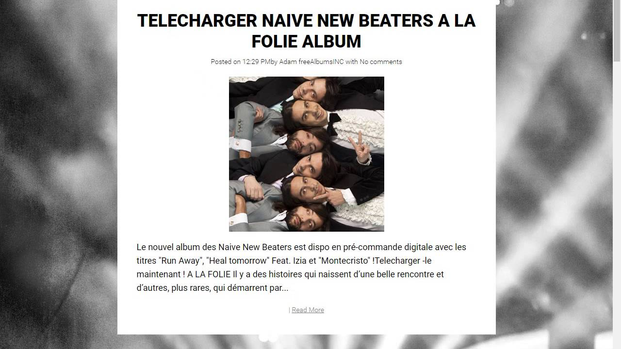 NAIVE LA ONDA NEW BEATERS TÉLÉCHARGER