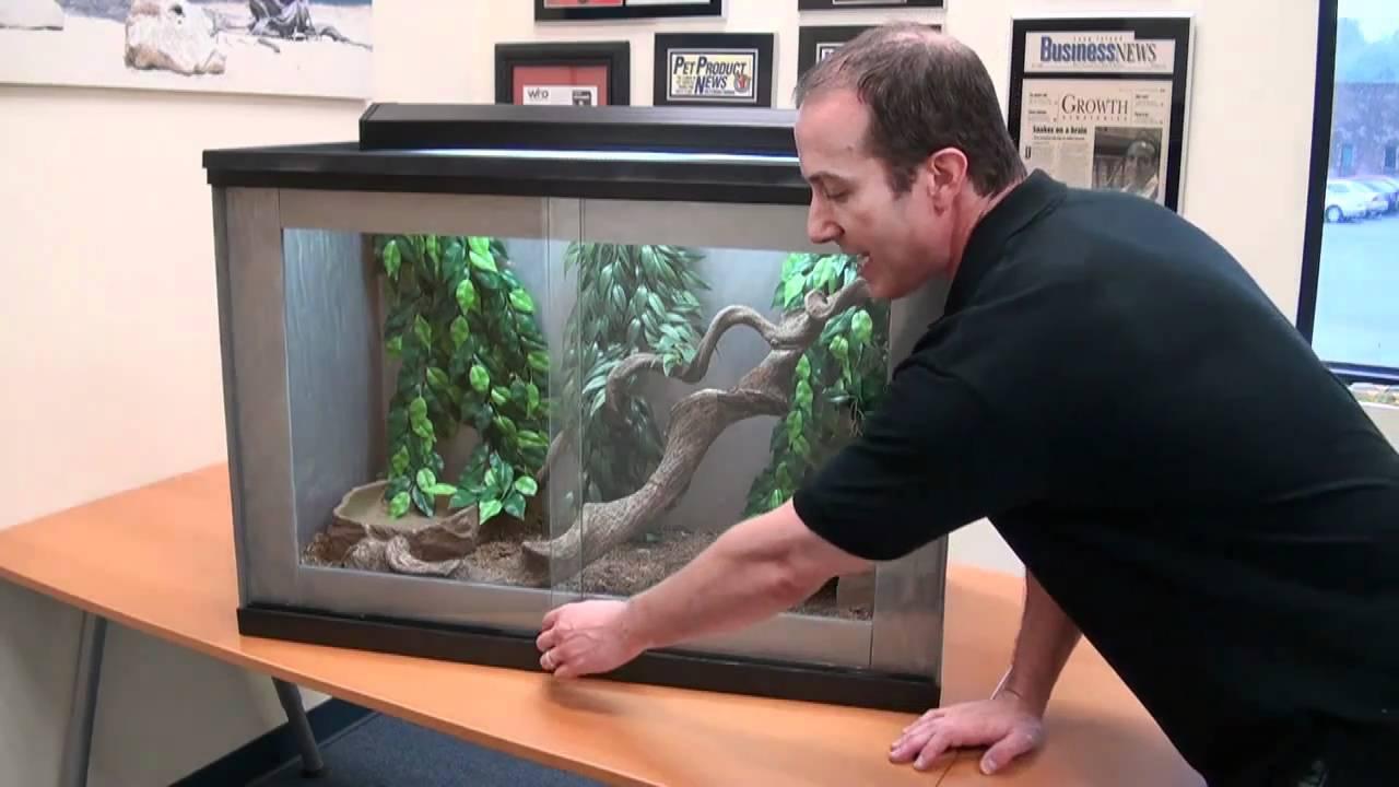 Reptile Cages Terrariums Big Apple Pro Series Granite Acrylic