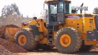 Wheel loader, a good choice for earth moving machinery.