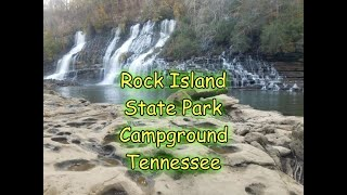 Rock Island State Pąrk Campground | Tennessee Waterfalls