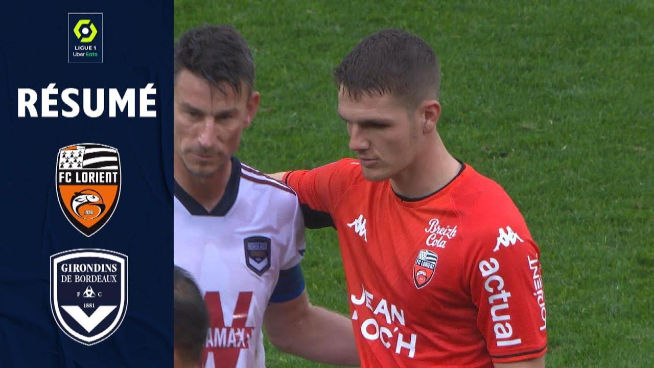 Download FC LORIENT - FC GIRONDINS DE BORDEAUX (1 - 1) - Résumé - (FCL - GdB) / 2021-2022