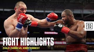 HIGHLIGHTS | Zhilei Zhang vs. Jerry Forrest