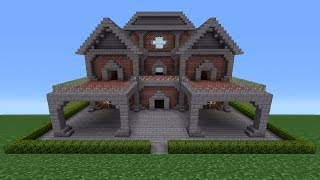 Minecraft Tutorial: Brick House - 6