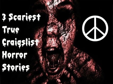Scary True CraigsList Stories (# 2) - YouTube