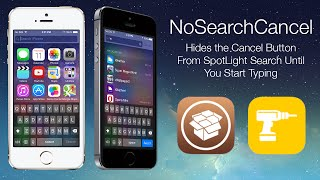 NoSearchCancel: Hides the Cancel Button From SpotLight Search Until You Start Typing