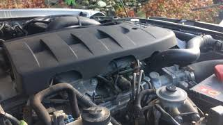 Ford Ranger / Mazda BT-50 3.0 MZR-CD TDCI turbo diesel engine start up + rev sound