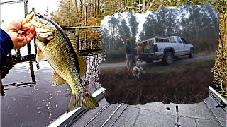 HOOKsets & DirtNAPS ft. a TITAN.  Deer Hunting & ABA tournament fishing on the Neuse River.