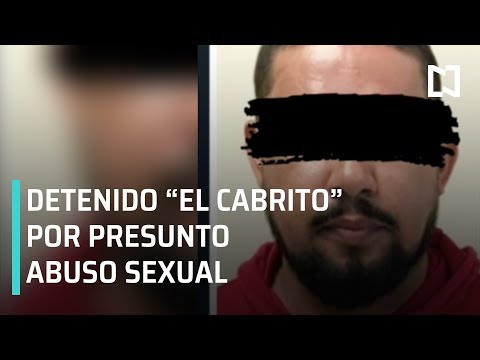 """Detienen a """"El Cabrito"""" Arellano por supuesto abuso sexual - Las Noticias"""