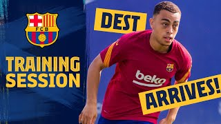 ⚽ DEST REACTS to first training session! 🏋️