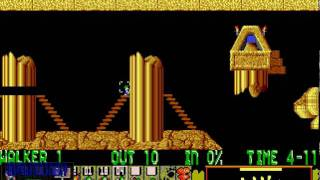 Lemmings platnum:Cakewalk 1-3