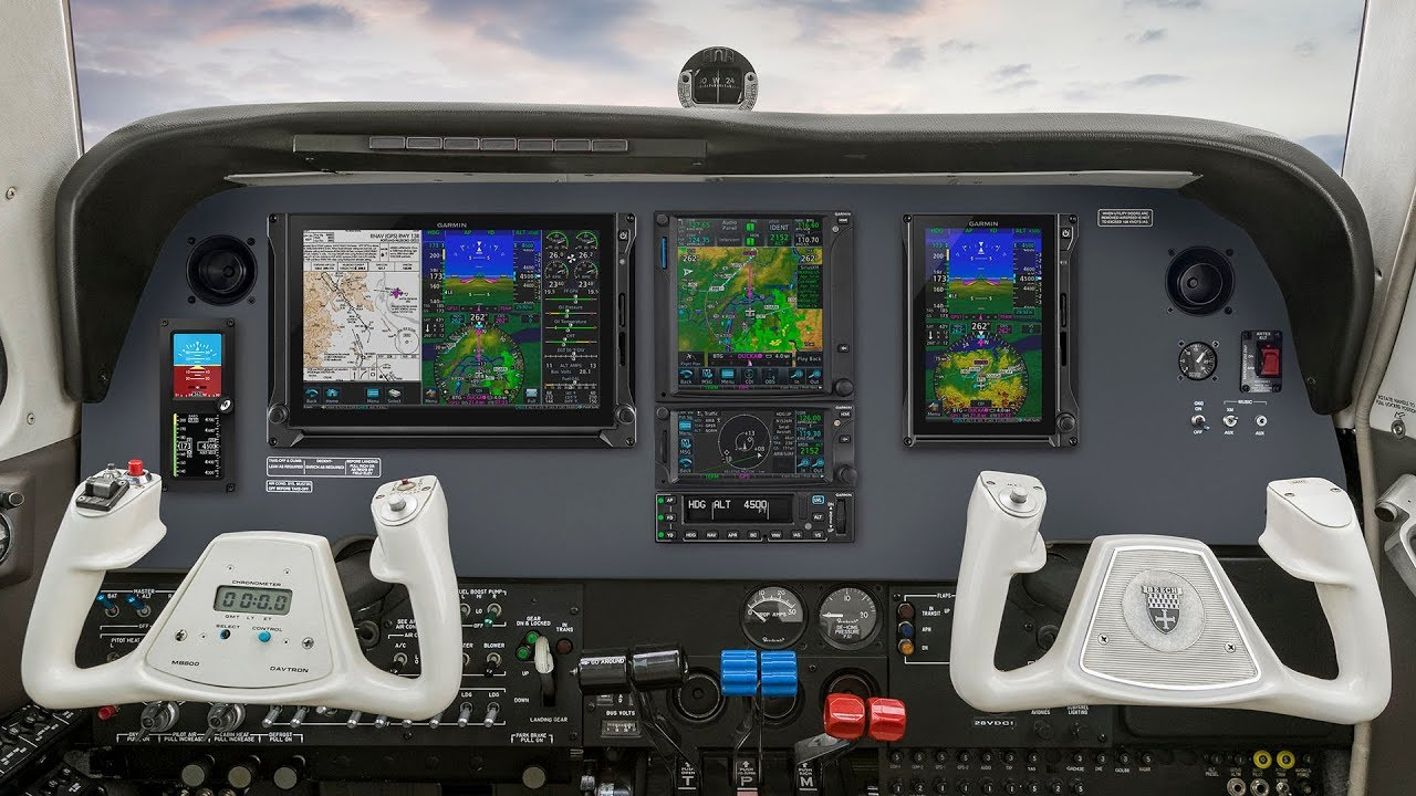 Flying with the Garmin GFC 600 Autopilot