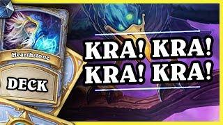 KRA! KRA! KRA! KRA! - WRONA MAGE - Hearthstone Deck (Rise of Shadows)