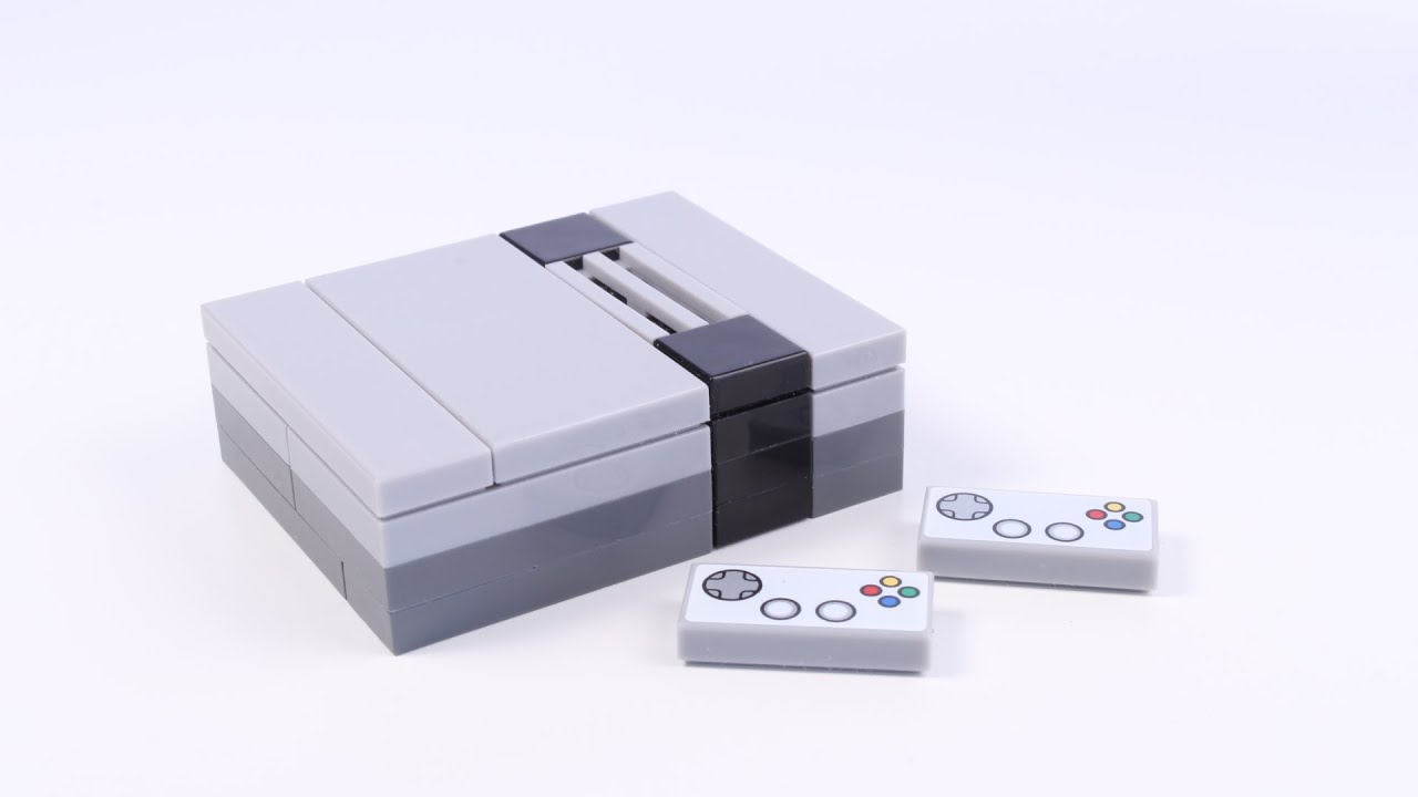 How to build a lego nintendo game console nes for for Consolle lago
