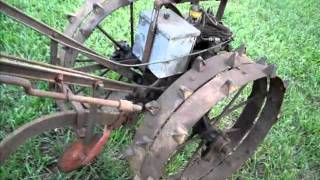 1950 Standard Walsh Garden Tractor