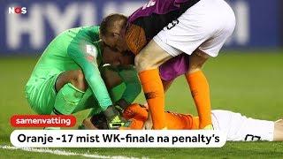 Oranje -17 verliest halve finale van Mexico na strafschoppen   WK onder 17   NOS Sport