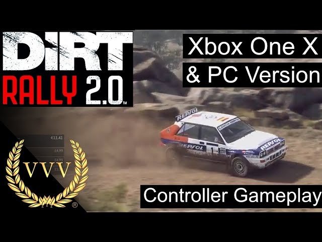 Dirt Rally 2.0 Xbox One X and PC Gameplay