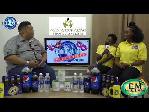 ENTREVISTA KU S A  Carnival Group den Kiko Ta Pasando Karnavalesko 2018