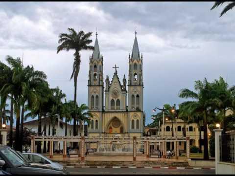 Catedral de Santa Isabel in Malabo, in beautiful Equatorial Guinea