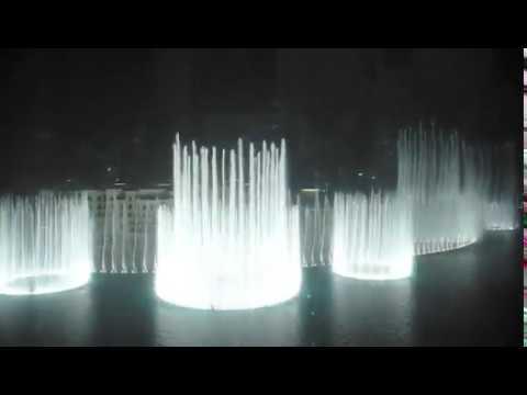 "Furat Qaddouri ""Ishtar Poetry"" at Dubai Fountain Burj Khalifa"