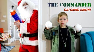 THE COMMANDER vs Santa Claus Holiday Battle! SHK Nerf Comic in Real Life