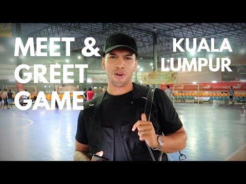SPORTS PLANET, AMPANG, KUALA LUMPUR | MEET & GREET GAME - Rico Zulkarnain