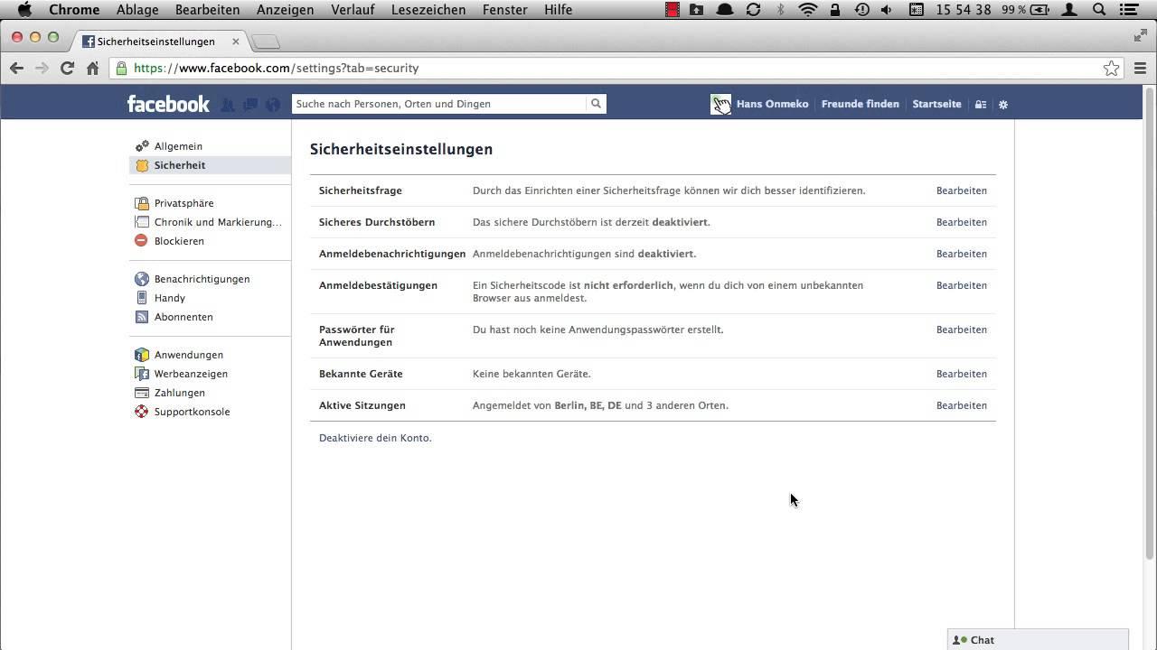 Facebook: Wie deaktiviere ich meinen Account? - YouTube