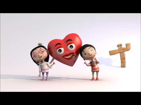 Jesus loves the little children | Baby song | Christian Baby Bounce 3D Animation