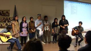 PPI Paris with INALCO (Indonesian Folk Songs) 02/12/2012
