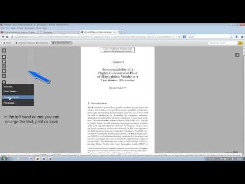 Knovel – Reading and downloading an e-book – Helsinki University Library