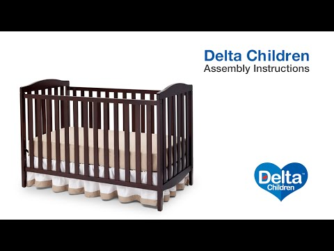 Delta Children Capri 3-in-1 Crib Assembly Video