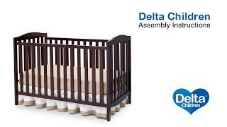 Delta Children Capri 3-in-1 Crib Assembly Video