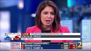 ABC News Election Night 2016 Coverage - 9pm Hour (Hillary R. Clinton vs. Donald J. Trump)